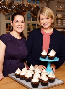 Jennifer and Martha Trophy Cupcakes