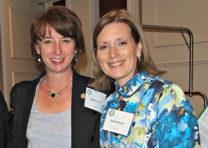 Megan and Patricia Henson at the Thurston County Women of Distinction Luncheon 2012