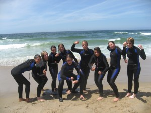 Beach wetsuits