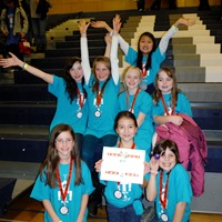 FIRST LEGO League Champs
